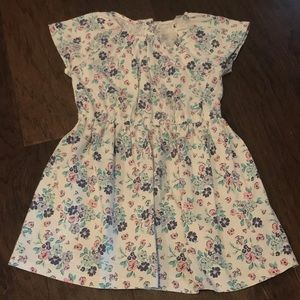 Carter's Girl's Floral Jersey Dress